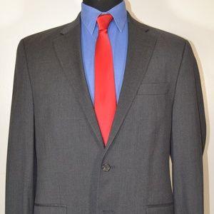 Ralph Lauren 42L Sport Coat Blazer Suit Jacket Gra